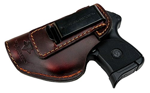 Relentless Tactical The Defender Leather IWB Holster - Made in USA - Fits Ruger LCP