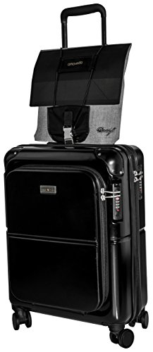 leather with to luggage fixes suitcases strap bungee New metal amp; additional buckle premium Amoveda bags version trolley travel 4WCqUcF