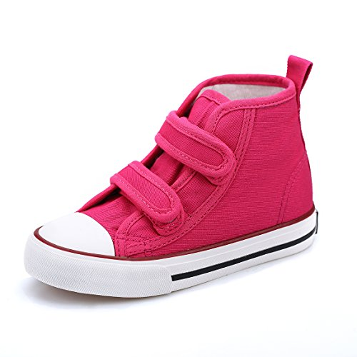 Hawkwell High-top Strap Canvas Sneaker(Toddler/Little Kid),Fuchsia Strap Canvas,9.5 M US