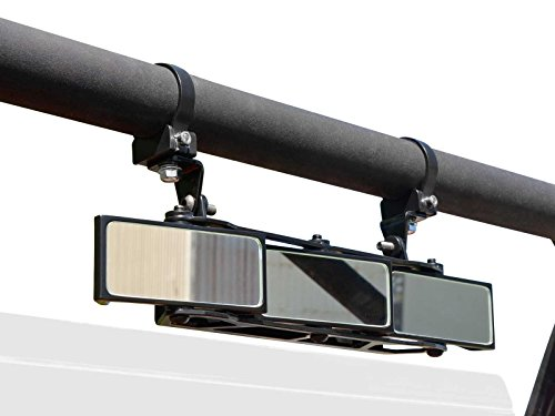(SuperATV UTV Heavy Duty 3 Panel Rear View Mirror With 1.75