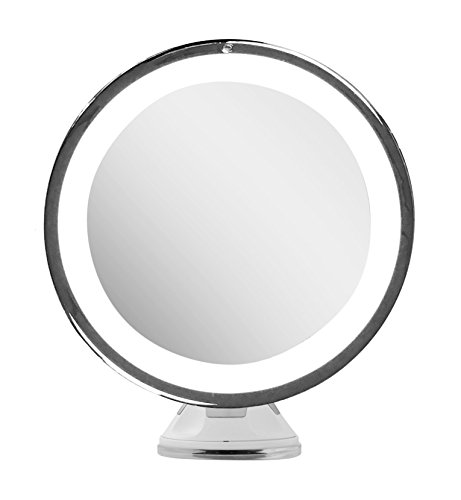 Lighted Makeup Mirror 10x Magnifying With True Daylight