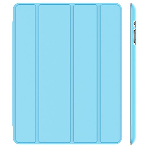 JETech Case for Apple iPad 2 3 4 (Old Model) Smart Cover with Auto Sleep/Wake (Blue) by JETech
