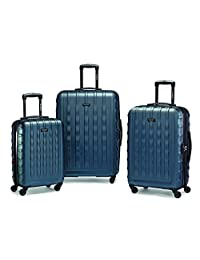 Samsonite 64621-2824 ZIPLITE 2.0 3-Piece Nested Set, Teal, Checked – Large