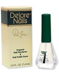 Delore for Nails Organic Nail Hardener and Nail Polish...