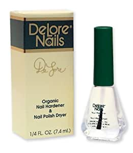 Amazon.com : Delore for Nails Organic Nail Hardener and