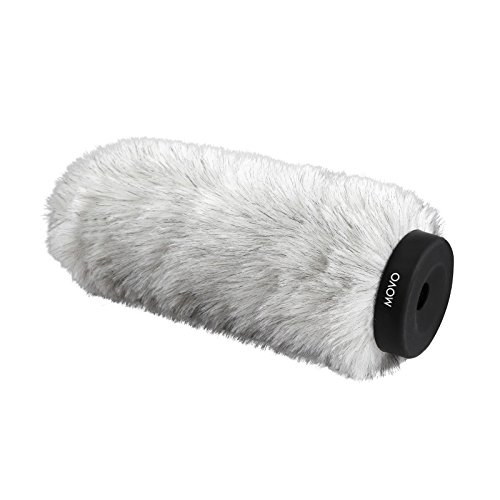 (Movo WS220 Professional Windscreen with Acoustic Foam Technology for Shotgun Microphones up to 20cm Long (Fits Røde NTG-3))