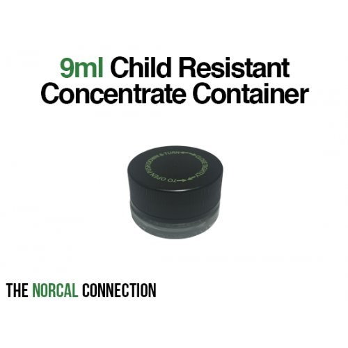 The Norcal Connection 9ml Child Resistant Concentrate Container, 126 Count by The Norcal Connection (Image #1)