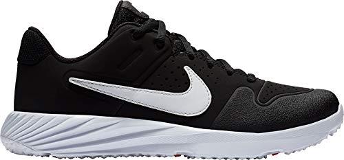 c1e20319bd58f Nike Kid s Alpha Huarache Varsity Turf Baseball Cleats (Black White