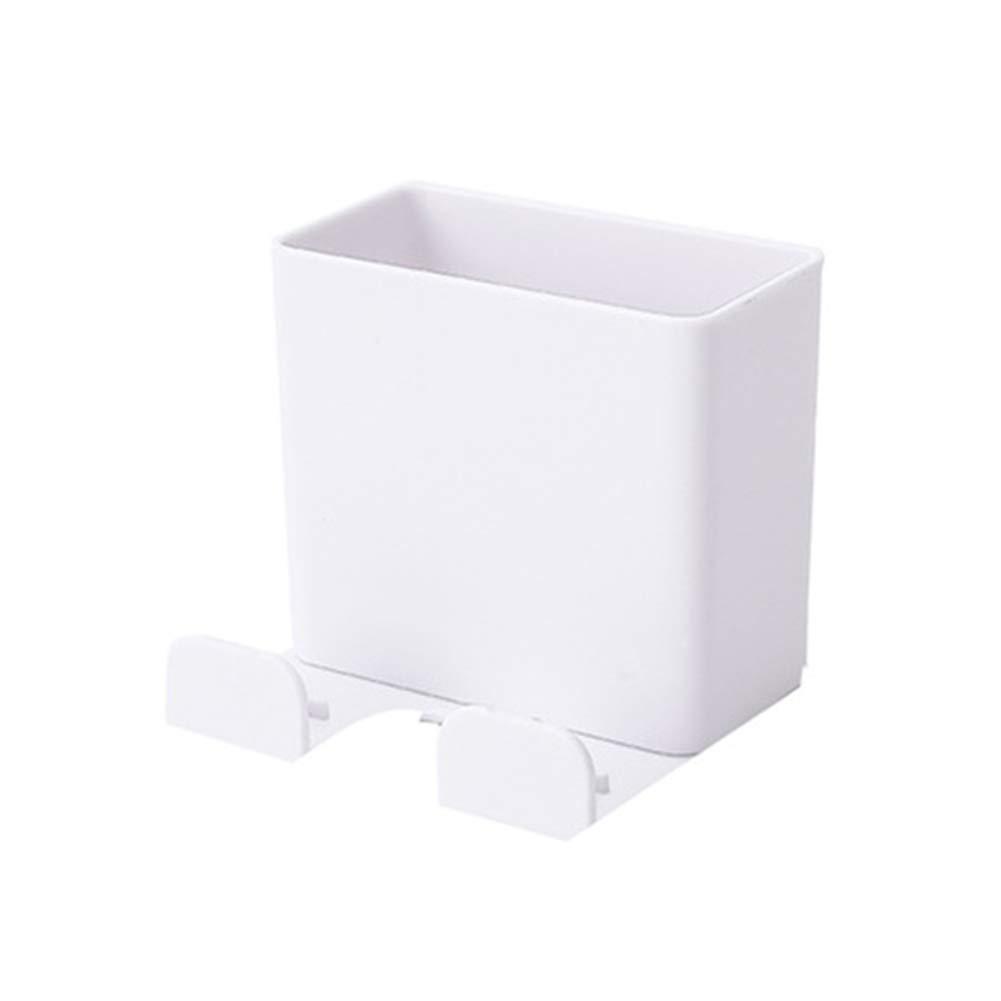 GARDENYEAR Caja de Almacenamiento de Control Remoto Soporte para tel/éfono m/óvil montado en la Pared Caja del Organizador de Medios con Gancho
