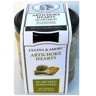 Cucina & Amore Artick Qtr Marinated 18x 14.5OZ by Cucina & Amore