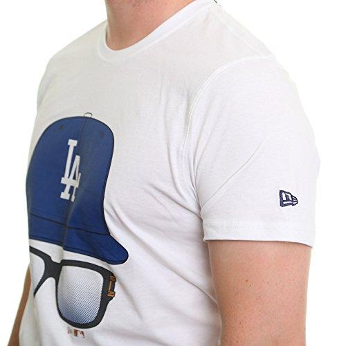 New Era Kappen und Gläser T-Shirt ~ LA Dodgers