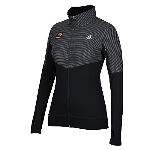 - NBA Phoenix Suns Women's Team Logo Lightweight Full Zip Jacket, Medium, Black