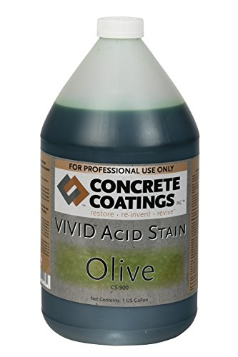 VIVID Acid Stain - 1 Gal - Olive (Mossy Green)