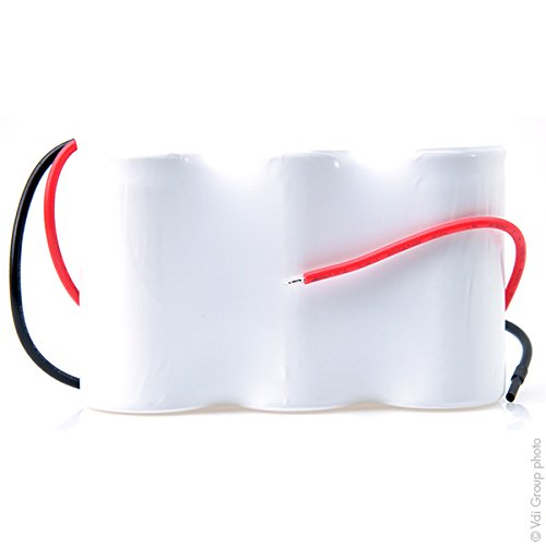 Bater/ía iluminaci/ón Emergencia 3xD ST1 Fils 3.6V 4Ah NX