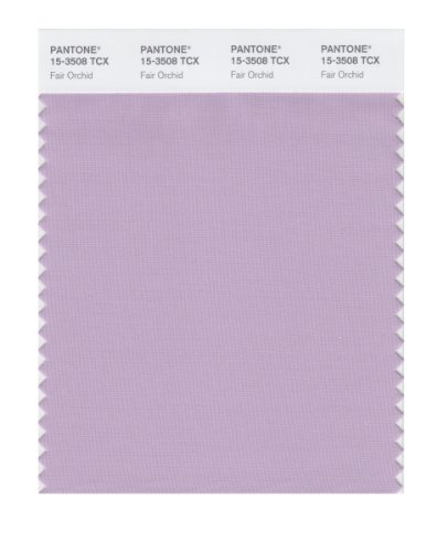(PANTONE Smart 15-3508X Color Swatch Card, Fair Orchid)
