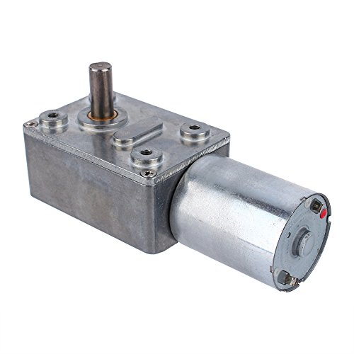 12V 40rpm Electric High Torque Turbo Worm Geared DC Motor - 3