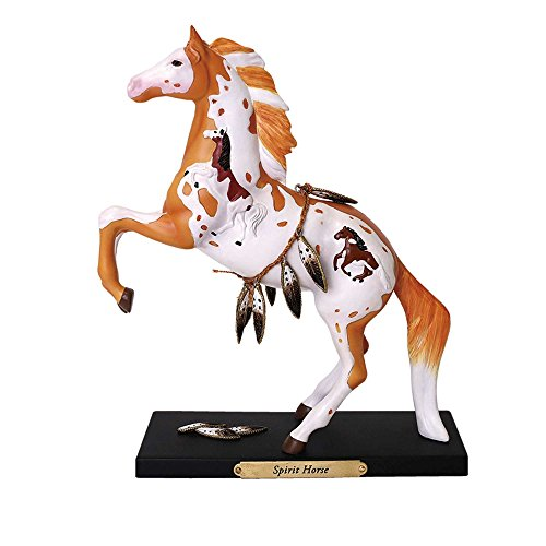 - Enesco Trail of Painted Ponies Spirit Horse Stone Resin Figurine, Multicolor