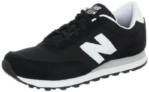 New Balance Men's ML501 Running Shoe,Black/White,10 D US