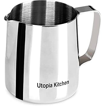 Pitcher Stainless Steel Milk Frothing 12 Oz (350 ml)