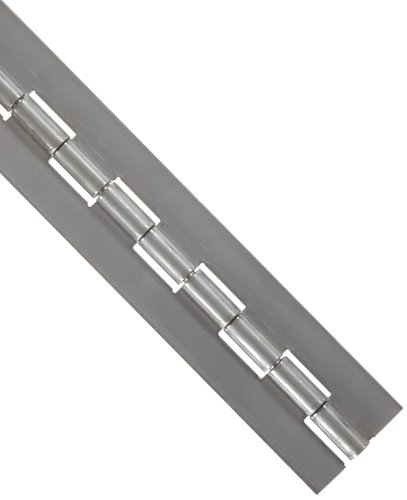 Stainless Steel 316 Continuous Hinge without Holes, Unfinished, 0.09