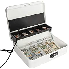 Large Locking Cash Box
