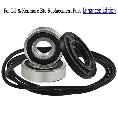 Front Load Washer Tub Bearings and Seal Kit For LG & Kenmore Etc Replacement Part 4036ER2004A 4280FR4048L 4036ER4001B 4280FR4048E
