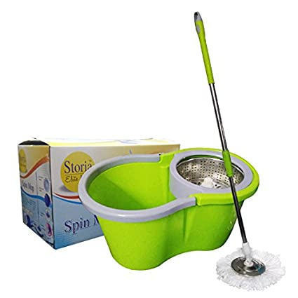 Sterling 360 Degree Spin Mop With Stainless Steel Disc & Steel Spinner