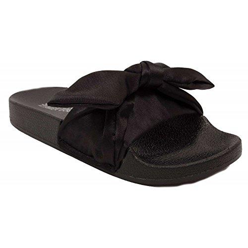 Primtex - Sandalias para mujer negro