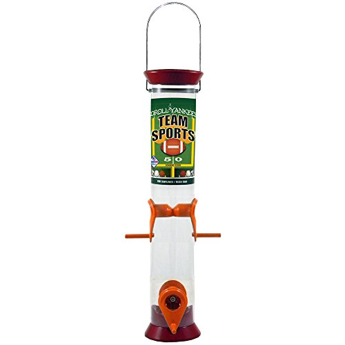 Team Sports Sunflower (Droll Yankees TS-40217 Team Sports Sunflower/Mixed Seed Bird Feeder, 15
