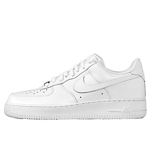 Nike Mens Air Force 1 Low White/White Leather Casual Shoes 16 M US