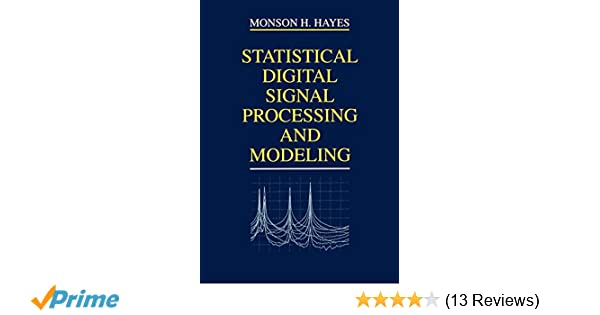 Statistical Digital Signal Processing And Modeling .pdf