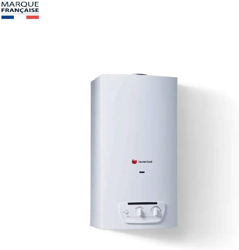 Saunier Duval - Calentador de agua a gas, OPALIA C11 Bas NOX luz nocturna Butano propano