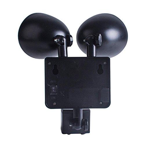 Techken Solar Lights Outdoor Security Light Dual Head