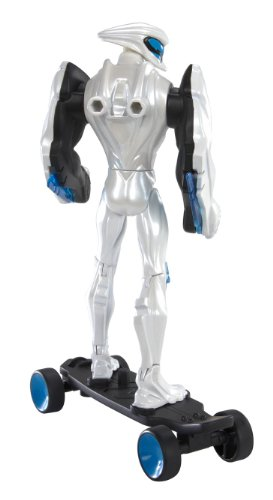 Amazon.com: Max Steel Deluxe Turbo Skateboard Max Steel Figure and DVD, 6-Inch: Toys & Games