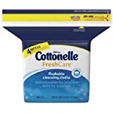 168 Count Per Pack Cottonelle Fresh Care Aloe / Vitamin E Scented Personal Wipe