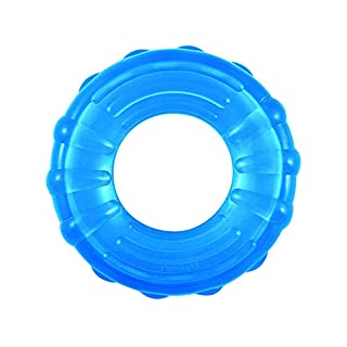 Petstages Orka Tire Dog Toy - Bouncy, Floating Treat Stuffer, Royal Blue, 7.5 inches x 2 inches x 8.5 inches