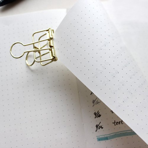 Dotted Bullet Journal/Notebook - Lemome A5 Hardcover Dot Grid Notebook with Pen Loop - Premium Thick Paper - Page Dividers Gifts by Lemome (Image #4)