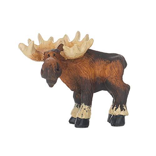 - DEMDACO Big Sky Carvers Standing Moose Mini Figurine