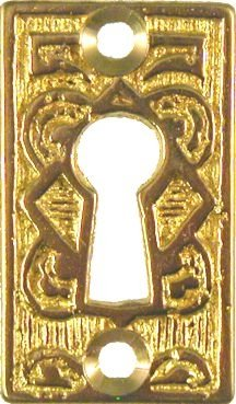 Marvelous Cast Brass Eastlake Style Keyhole Cover Cabinet Dresser Download Free Architecture Designs Scobabritishbridgeorg