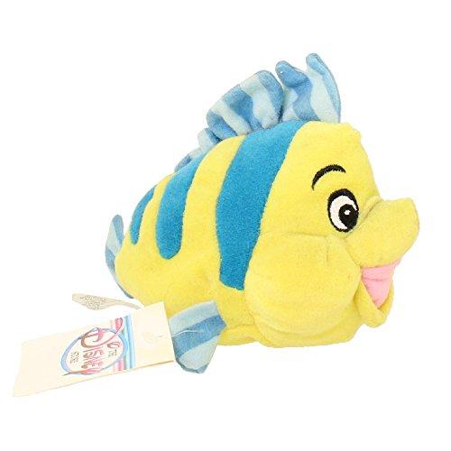 Flounder the Fish - Little Mermaid - Disney Mini Bean Bag (Little Mermaid Flounder Plush)
