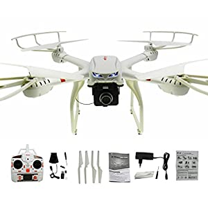 NiGHT LiONS TECH 37.5 Inch Drone N7C 4 Channel 6 Axis GYRO Big Quadcopter with 2MP HD Camera from NiGHT LiONS TECH