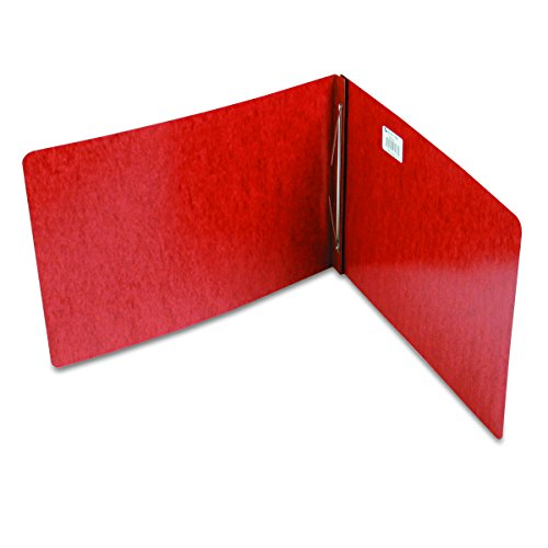 ACCO Pressboard Report Cover, Side Bound, Tyvek Reinforced Hinge, 11 x 17 Inch Sheet Size, 8.5 Inch Centers, Red (A7047078A)