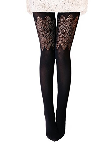 best tights to wear with black dress - 6