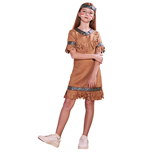 Cheap Easy Indian Costumes - ReneeCho Girl's Indian