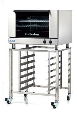 Moffat E27M3/SK2731U Turbofan Electric Countertop Convection Oven, (3) Full Size Sheet Pan Capacity With SK2731U Stand