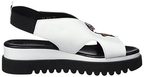 Gabor Vrouwen Jollys Sandaaltjes, Zwart (wit / Zwart)