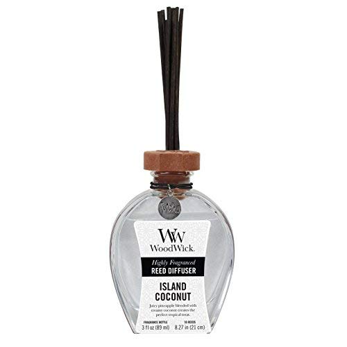 ISLAND COCONUT WoodWick 3 oz Reed Diffuser by WoodWick (Image #1)