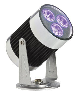 Gemmy LED Purple Spotlight Stake Light for Halloween