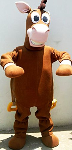 Costume Story Toy Bullseye (Bullseye Horse Toy Story Mascot Costume Adult)