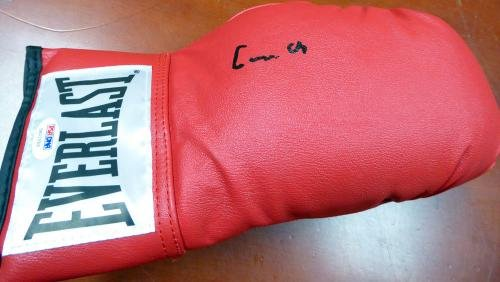Cassius Clay Muhammad Ali Autographed Boxing Glove Gem 10 Auto 5A02056 PSA/DNA Certified Autographed Boxing Gloves